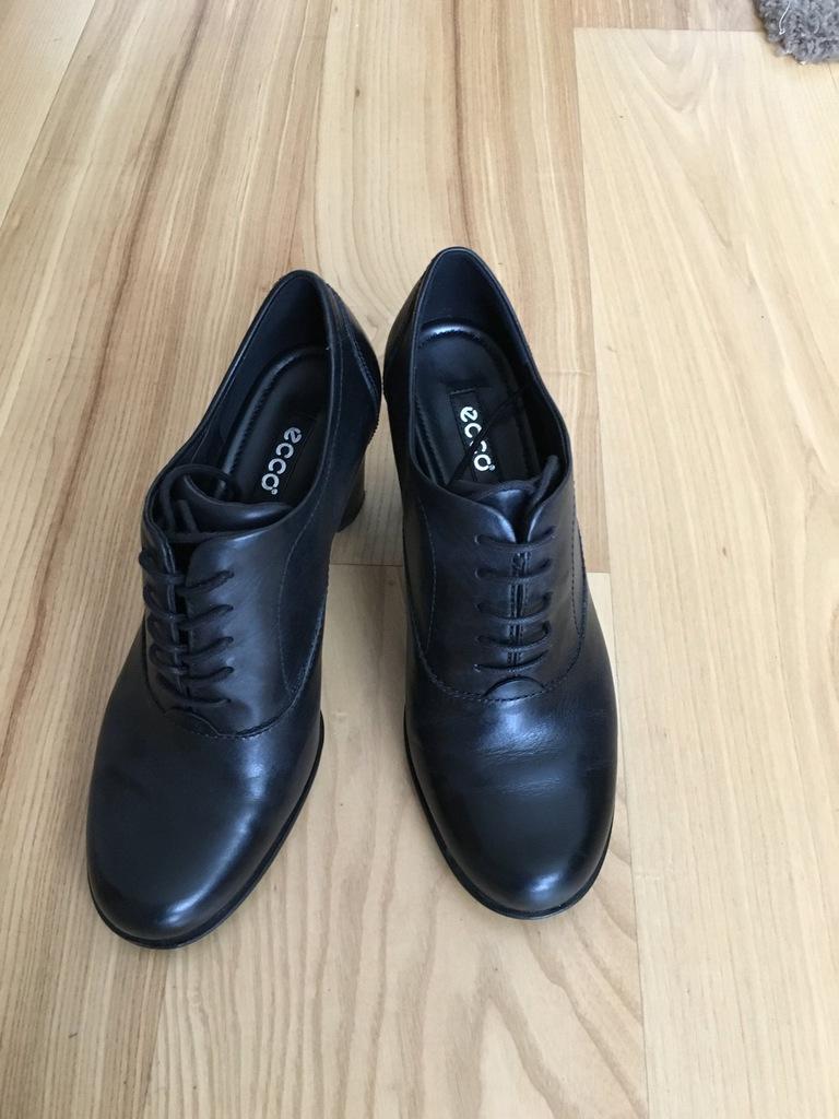buty damskie ECCO skóra, rozm.39 używane