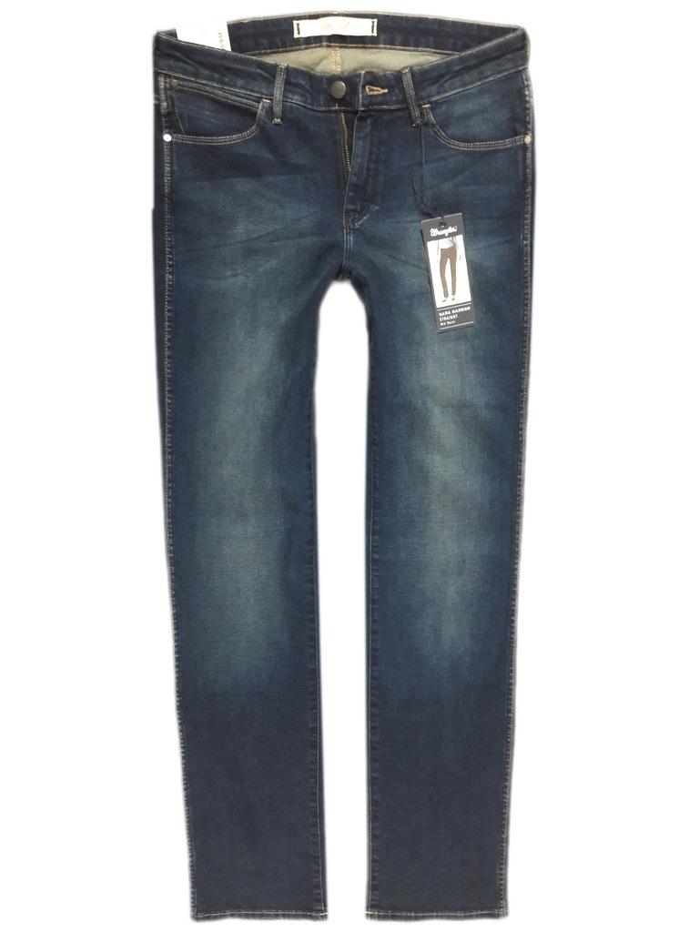 Spodnie WRANGLER SARA Scuffed Proste W32 L30 7300755328