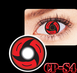 WYPRZEDAŻ Soczewki czerwone Naruto Sharingan 14.20 - 7072541250 - oficjalne archiwum Allegro