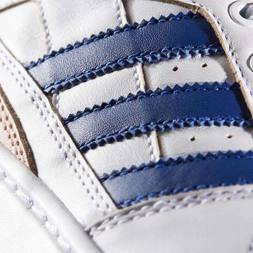 Adidas Buty m?skie Forum MID bia?o niebieskie r. 4