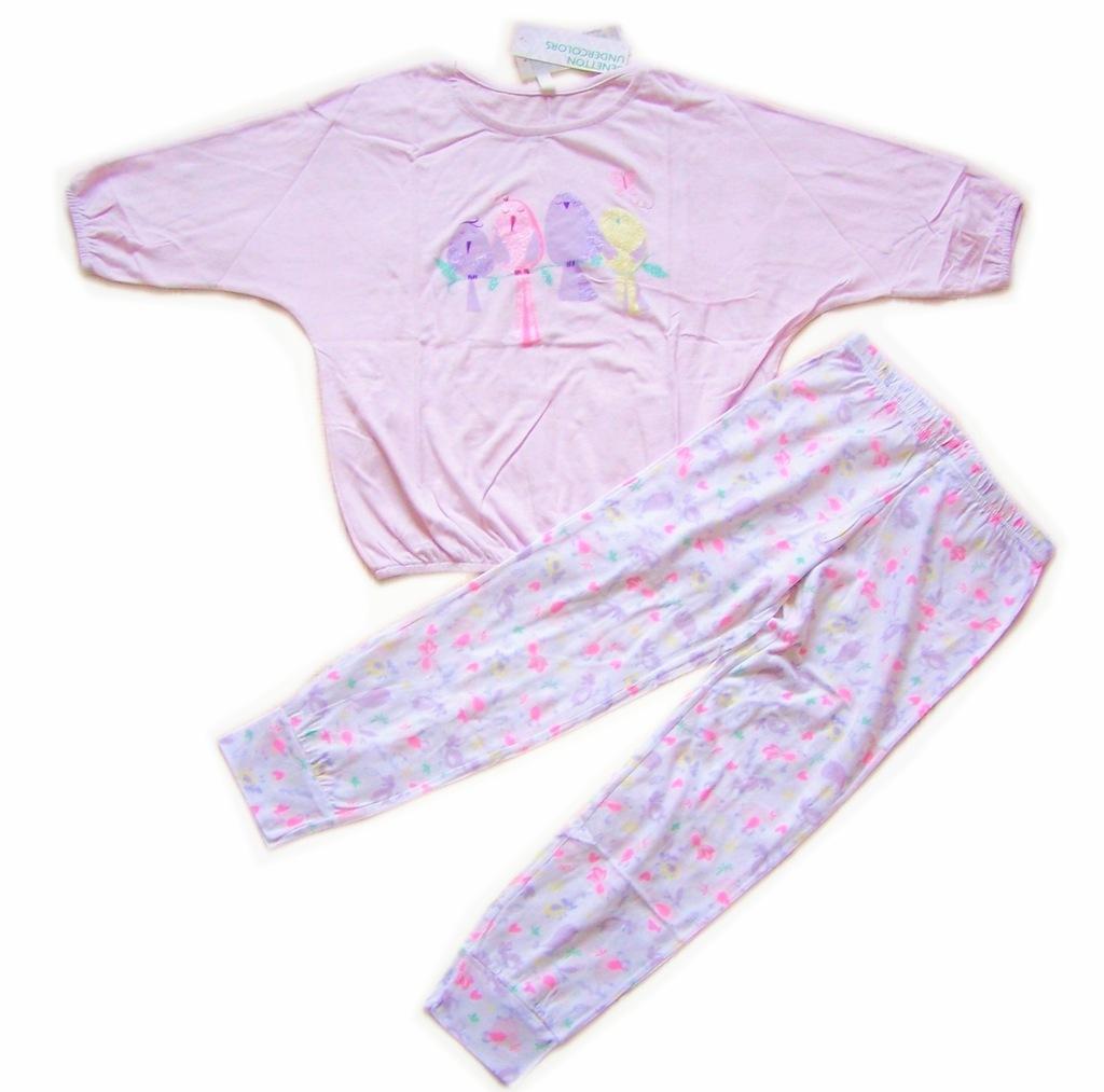 BENETTON piżama dziewczęca na 110 cm LA22
