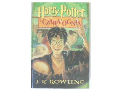 Harry Potter I Czara Ognia J K Rowling 24h Wys 7375546098 Oficjalne Archiwum Allegro