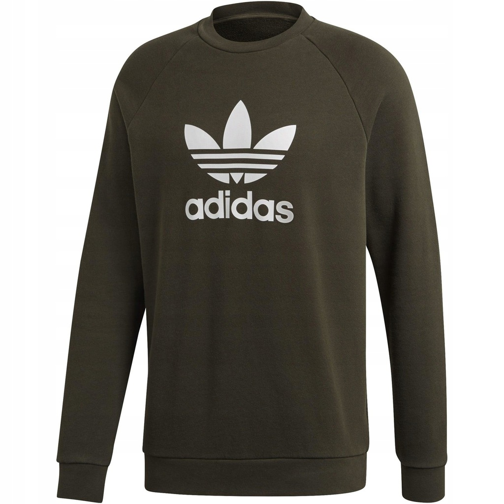 Bluza Adidas Originals Trefoil bawełna kaptur r M
