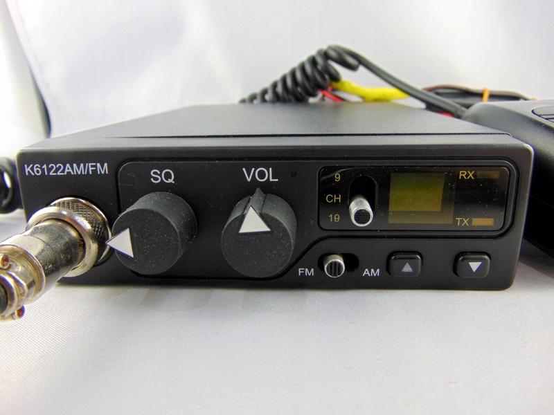 CB RADIO MK3 K6122AM/FM BEZ ANTENY
