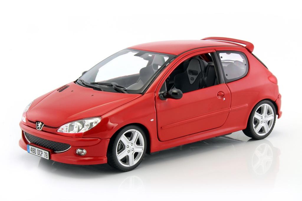 Peugeot 206 Rc 2003 Norev 1 18 184823 Nowosc 6998370963 Oficjalne Archiwum Allegro