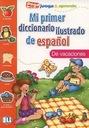 słownik obrazkowy  HISZPAŃSKI dla dzieci 3-7l ELI