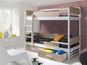 Łóżko piętrowe 2 osobowe TRES - NOWOŚĆ !!!