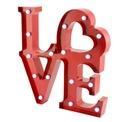 3D Liebe Industrial * LOFT LightBox Inschrift traf Lampe *
