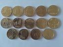 2zł 2013 Komplet 14 monet Żubr Osiecka Cegielski..