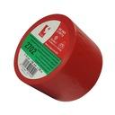 Szeroka czerwona taśma PCV Scapa 2702 50mm/25m