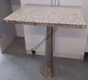 Stół / stolik z blatem granitowym