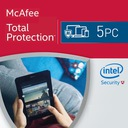 McAfee Total Protection PL 2017 5 PC FVAT