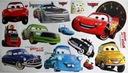 Naklejki ścienne na ścianę AUTA CARS ZYGZAK