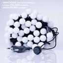Lampki choinkowe LED wewnętrzne kulki mleczne 100 Liczba lampek 51 - 100