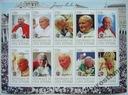 Papież JAN PAWEŁ II  2012 arkusik czysty (**) #172