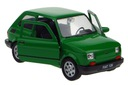 FIAT 126 P MODEL METALOWY WELLY 1:34 ZIELONY