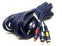 Przyłącze kabel CHINCH 3x RCA na JACK3.5mm 4p 1,5m