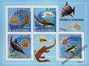 Ryby i Muszle dinozaury Sao Tome ark. ** #ST9310a