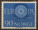 Norwegia. Mi 449 ** - Europa CEPT 1960