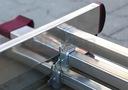 Drabina aluminiowa 3x7 KRAUSE CORDA 5,10m 030375 Wymiary profilu bocznego 60 x 20 mm