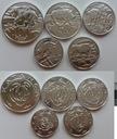 KATANGA zestaw 5 monet BIG FIVE