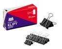 KLIPY BIUROWY KLIPS 19mm KLIP BIUROWE 12 SZT.