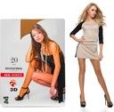 Włoskie damskie rajstopy 20 DEN 3D TG2 NOWOŚĆ 2015