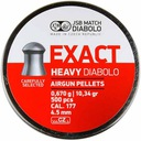 JSB Srut Diabolo EXACT HEAVY 4,52mm 4.52 CIEZKI