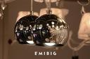 NOWOŚĆ KULE CHROM MODERN DESIGN BALL 3 EMIBIG LED Rodzaj lampy Sufitowe - wiszące
