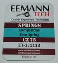 Sprężyna sear Comp. -15% CZ 75, SH 1-2, 75 TS