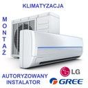 Klimatyzacja montaż LG GREE ŁÓDŹ i woj. Łódzkie