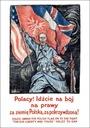 Plakat A3 - Polacy! Idźcie na bój na prawy za ziem