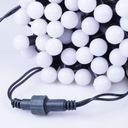 Lampki choinkowe LED wewnętrzne kulki mleczne 100 Długość sznura 9.77 m