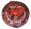 Kable Przewody Rozruchowe 800A 4m + Etui Pokrowiec