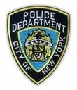 NYPD Naszywka Police Department City of New York