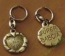 medal dla babci Super Babcia brelok