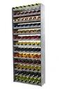 Regał na wino stojak półka RW-16-91 duży 4 KOLORY