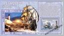 ŻAGLOWCE statki latarnie (6) Congo DR bl. CDR0712f