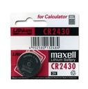 Maxell Hitachi CR2430 Bateria 3V Litowa -12-2022-