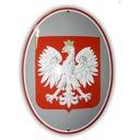 godło Polski emaliowane 30 x 40 - gwarancja! W-wa