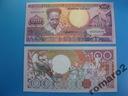 Surinam Banknot 100 Guldenów P-133b UNC 1988 !