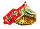 Czekoladowe monety i banknoty do żucia SCHOKO-GELD