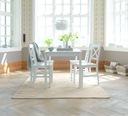 Стиль Икеа деревянный комплект стол + 4 стулья Белый