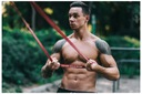 4FIZJO Guma taśma Do Ćwiczeń Crossfit Podciagania Opór 6-10 kg