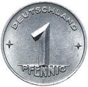 Германия DDR - монета 1 Pfennig 1952 ЭЛЕКТРОННОЙ MULDENHUTTEN доставка товаров из Польши и Allegro на русском