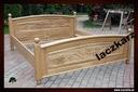ŁÓZKO DĘBOWE LITE DREWNO minimalistyczne 140/200 Typ łóżka ze stelażem
