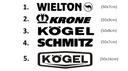 Naklejka logo WIELTON KRONE KOGEL SCHMITZ