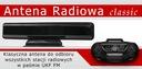 MARKOWA POKOJOWA ANTENA RADIOWA Classic + 2m black Kod producenta CLASSIC POKOJOWA CZARNA