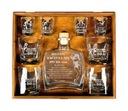 karafka szklanki na 18 30 40 50 urodziny prezent