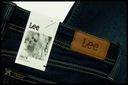 LEE EMLYN Straight Jeansy Damskie Regular W28 L33 Kolor niebieski granatowy